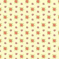 Kleine Pansy Blumen Muster