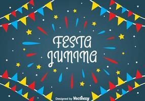 Festa Junina Hintergrund vektor