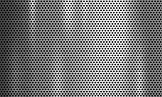 Silber Metallgitter Textur vektor