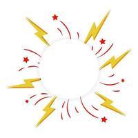 cirkelram med explosiv