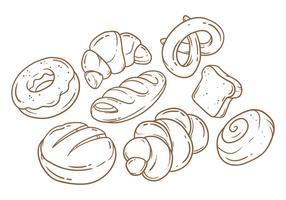 Kostenloses Brot Vektor