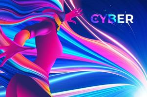 Cyber-Design vektor
