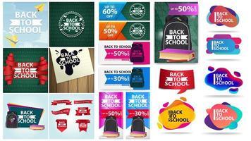 Zurück zum Schulplakat und Bannerset