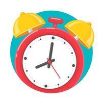 väckarklocka-ikonen