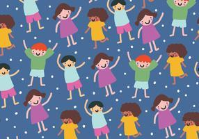 Barnens mönster vektor
