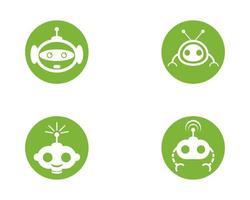 robot vektor ikon