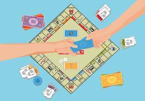 Kostenlose Monopoly Illutration vektor