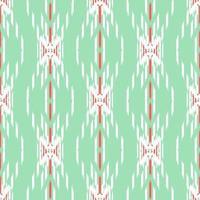abstraktes Ikat nahtloses Muster