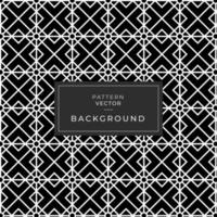 svartvitt geometriskt diamantmönster