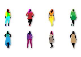 Gratis Fat Women Fashion Vector