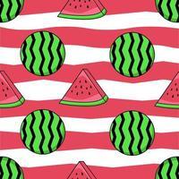 Muster von Wassermelonenfrüchten