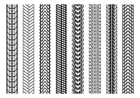 Grugne Reifen Marks Vektor