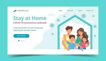 familj hemma i egen karantän målsida