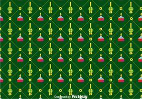 Flat Ketupat Pattern Hintergrund