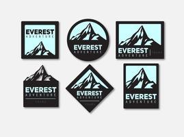 Everest-Vektor-Logomarks vektor