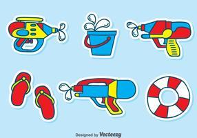 Spiel Wasser Element Vektor