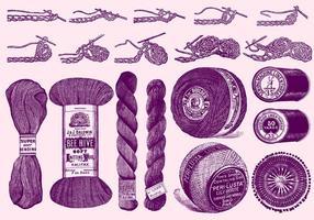 Strickwerkzeuge und Anleitungen