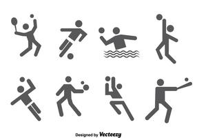 Sport Icons Vektor