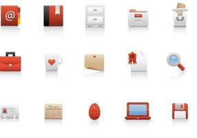 Büro Business Icon Vector Pack