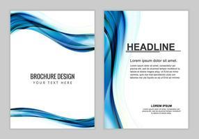 Free Vector Broschüre Hintergrund