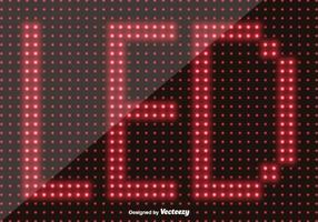 Led Bildschirm Hintergrund - Vector Elements