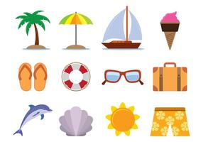 Hawai vektor ikoner