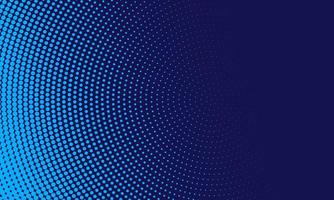 abstrakte hellblaue Punkte im Kreis auf Marinehintergrund