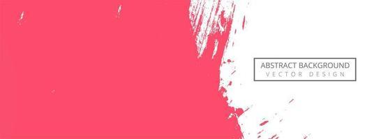 abstrakte rosa Farbe Strich Banner vektor