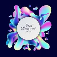 trendig neongradientbakgrund