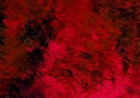 abstrakter Pinselstrich kastanienbraun, schwarzer Farbtexturhintergrund vektor