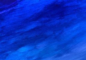 dunkelblauer aquarellblauer Texturhintergrund