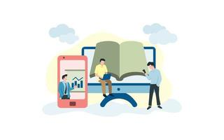 online lernende Menschen