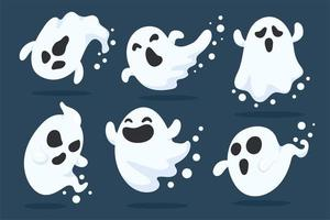 Halloween Ghost Set vektor