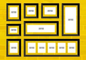 Kostenlose Vektor Foto Collage 12
