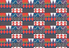 Abstrakt slumpmässigt mönster vektor
