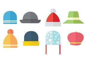 Free Bonnet Icons Vektor