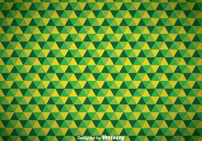 Abstraktes Dreieck Grüner Hintergrund vektor