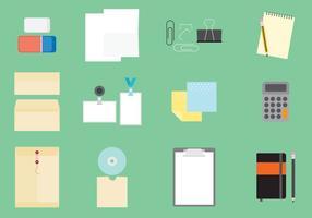 Büroartikel Icons