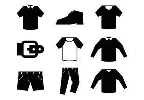 Männer Mode Icon vektor