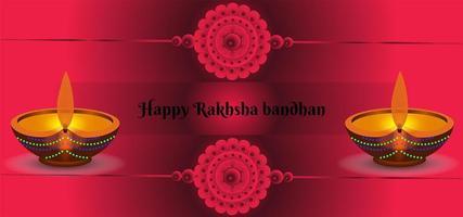 abstrakter Hintergrund des Raksha Bandhan Festivals vektor
