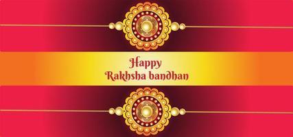 raksha bandhan firande bakgrund vektor