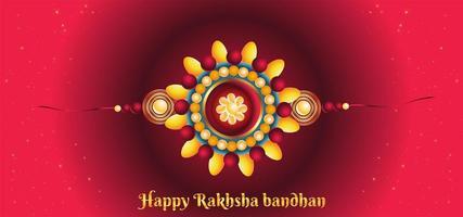 bunter Hintergrund des Rakhi Bandhan vektor