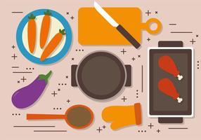 Free Thanksgiving Dinner Vector Dekoration