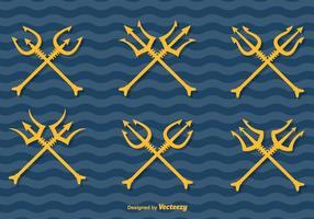 Poseidon Vektor Tridents