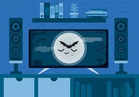Halloween-Film-vektorentwurf