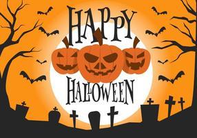 Gratis Halloween Vektorillustration