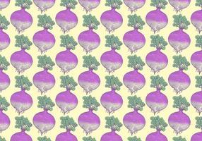 Rutabaga Gemüse Muster