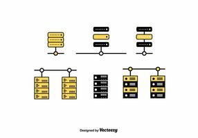 Server Rack Vektor