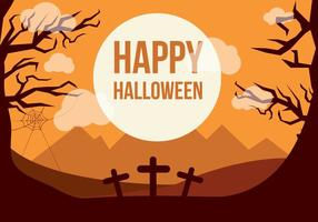 Freier Halloween-vektorhintergrund