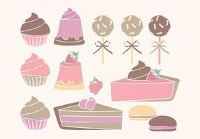 Vector Süßigkeiten Sammlung